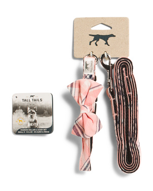 Fashion Collar & Leash Set