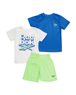 Little Boy 3pc Lounge Short Set