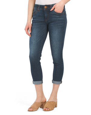Ab Tech Ankle Cuffed Denim Jeans