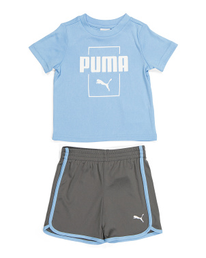 Infant Boy Tee And Shorts Active Set