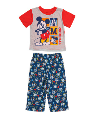 Baby Boys Mickey Mouse Sleep Set