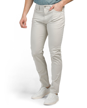 Supreme Flex Slim Khaki Pants