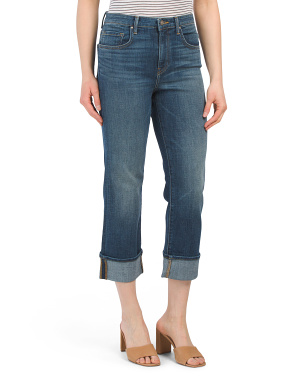 Jerry High Rise Straight Leg Jeans