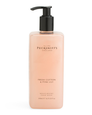 16.9oz Fresh Cotton Pink Lily Liquid Hand Soap