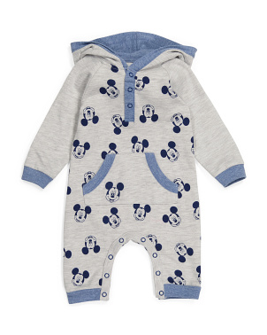 Infant Mickey Mouse Coveralls
