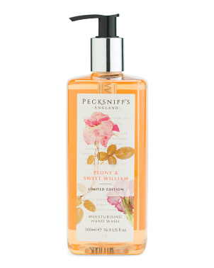 16.9oz Peony Sweet William Liquid Soap