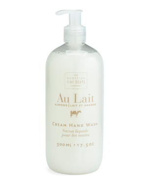17.5oz Au Lait Almond Hand Wash
