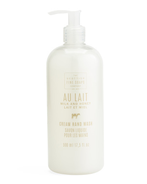 17.5oz Au Lait Milk And Honey Hand Wash