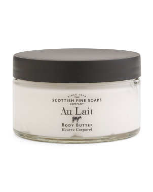 7oz Au Lait Body Butter Jar