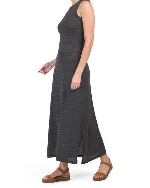 Eco Side Slit Maxi Dress