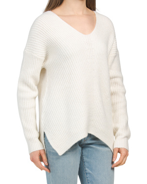 Whitney V-neck Spring Sweater