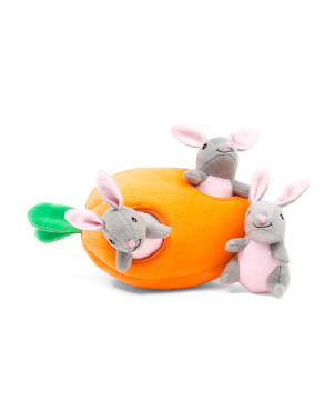 Bunny And Carrot Burrow Toy