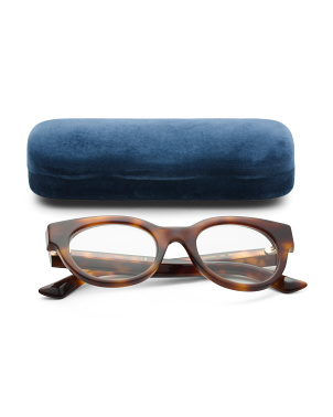 48mm Designer Blue Light Glasses