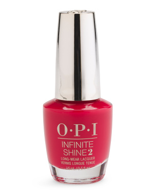 Color So Hot It Berns Infinite Shine Nail Lacquer