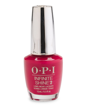 Red Infinite Shine Nail Lacquer