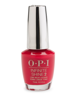 Infinite Shine Unequivocally Crimson Nail Lacquer
