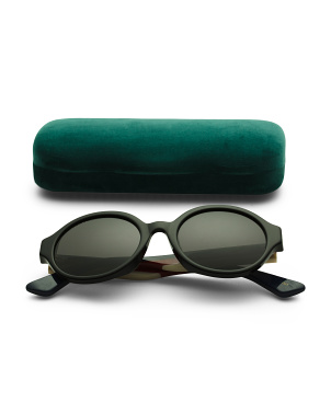 51mm Designer Round Sunglasses