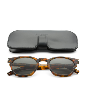 49mm Designer Tortoise Sunglasses