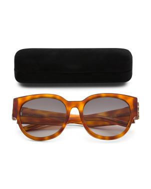 56mm Designer Tortoise Sunglasses