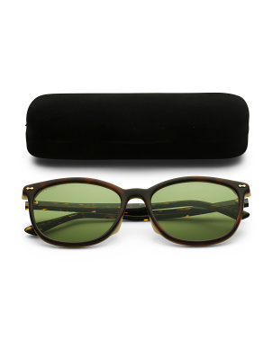 58mm Designer Tortoise Sunglasses
