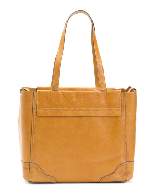 Leather Charlie Carryall Tote