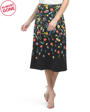 Floral Rao Skirt