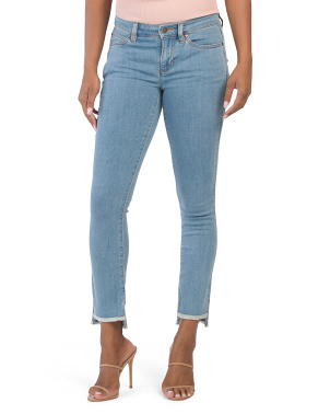 Organic Cotton Slim Ankle Jeans