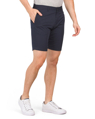 Zaine Solid Twill Shorts