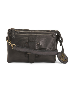 Leather Convertible Belt Bag