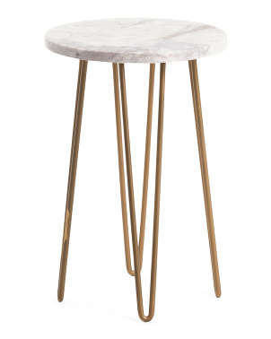 15in Marble Plant Stand