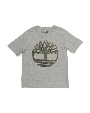Big Boy Camo Tree Tee