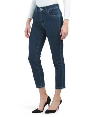 724 High Rise Carpenter Crop Get Paid Jeans