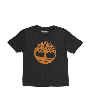 Big Boy Tree Logo Tee