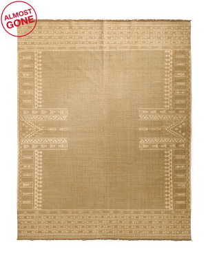 Made In India Luxury Handwoven Wool Area Rug