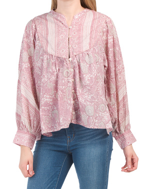 Julian Printed Blouse
