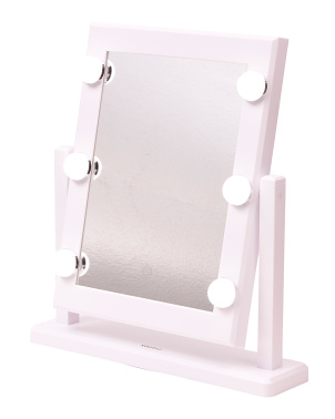Hollywood 1x Led Lighted Large Vanity Mirror