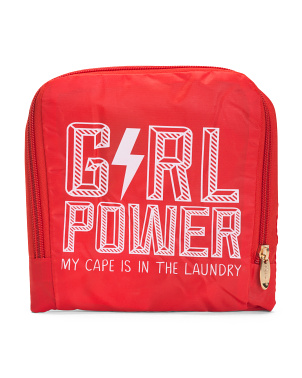 Girl Power Travel Laundry Bag