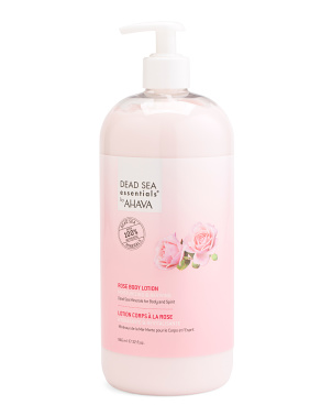 32oz Dead Sea Mineral And Rose Body Lotion