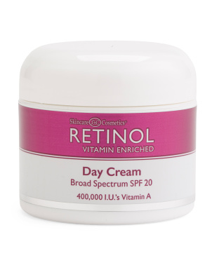 2.25oz Spf 20 Retinol Day Cream