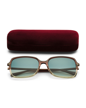 57mm Square Designer Sunglasses
