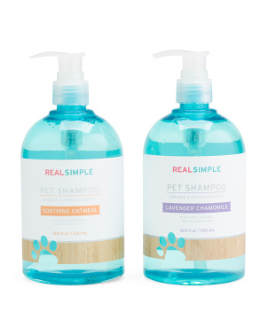 3pc Pet Shampoo Wooden Caddy Set