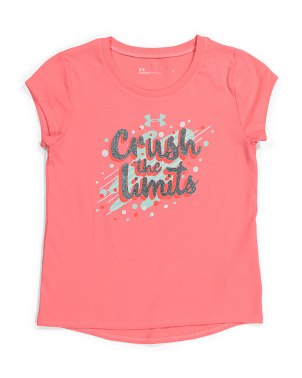 Little Girls Crush The Limits Tee