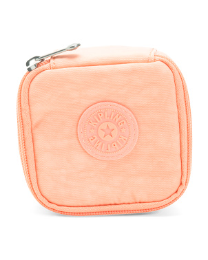 Joyful Zippered Nylon Jewelry Case