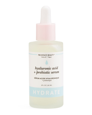 2oz Natural Hydration Hyaluronic Acid + Probiotic Serum