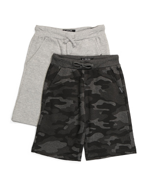 Big Boy 2pk French Terry Shorts