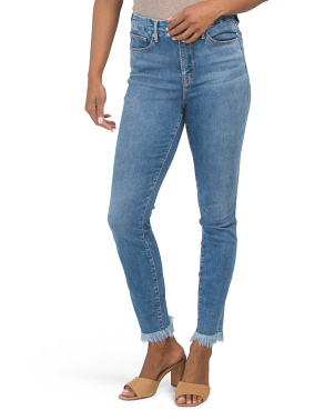 Good Legs Fray Hem Jeans