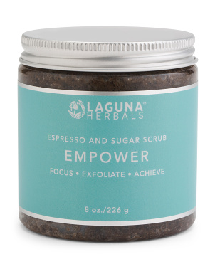 8oz Empower Coffee Scrub
