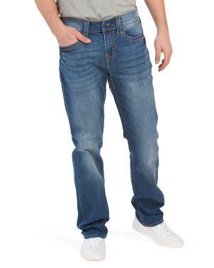 Geno Big T No Flap Jeans