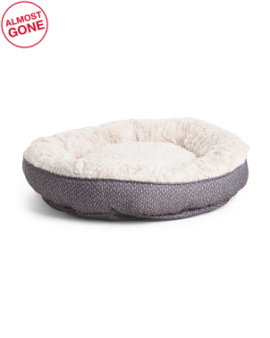 Round Bolster Pet Bed