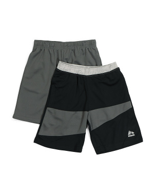 Little Boy 2pk Active Shorts